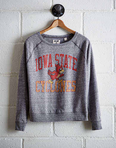 Tailgate Women's Iowa State Varsity Sweatshirt - Free Returns