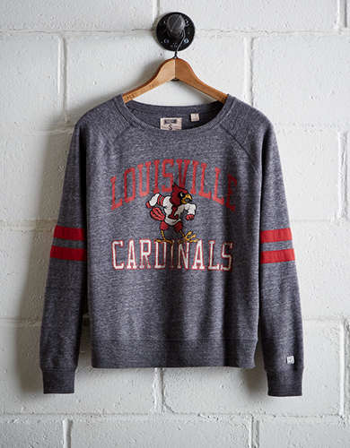 Tailgate Women's Louisville Varsity Sweatshirt - Free Returns