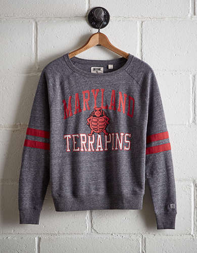 Tailgate Women's Maryland Varsity Sweatshirt - Free Returns