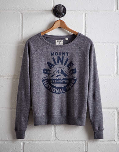Tailgate Women's Mount Rainier National Park Sweatshirt - Free Returns