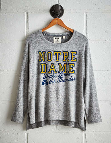 Tailgate Women's Notre Dame Plush Tee - Free shipping & returns with purchase of NBA item