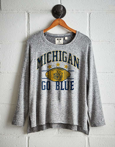 Tailgate Women's Michigan Plush Tee - Buy One Get One 50% Off