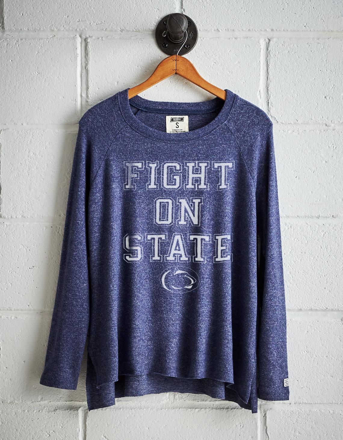 Tailgate Women S Penn State Plush Tee