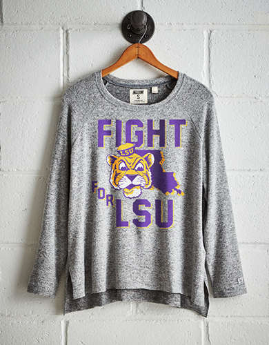 Tailgate Women's LSU Plush Tee - Free shipping & returns with purchase of NBA item