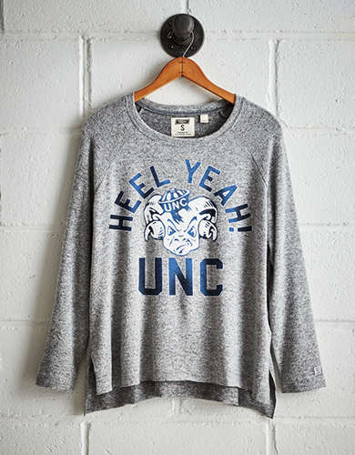 Tailgate Women's UNC Tar Heels Plush Tee - Free returns