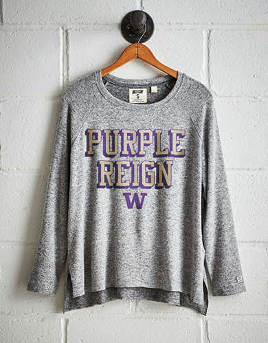 Tailgate Women's Washington Plush Tee - Free Returns