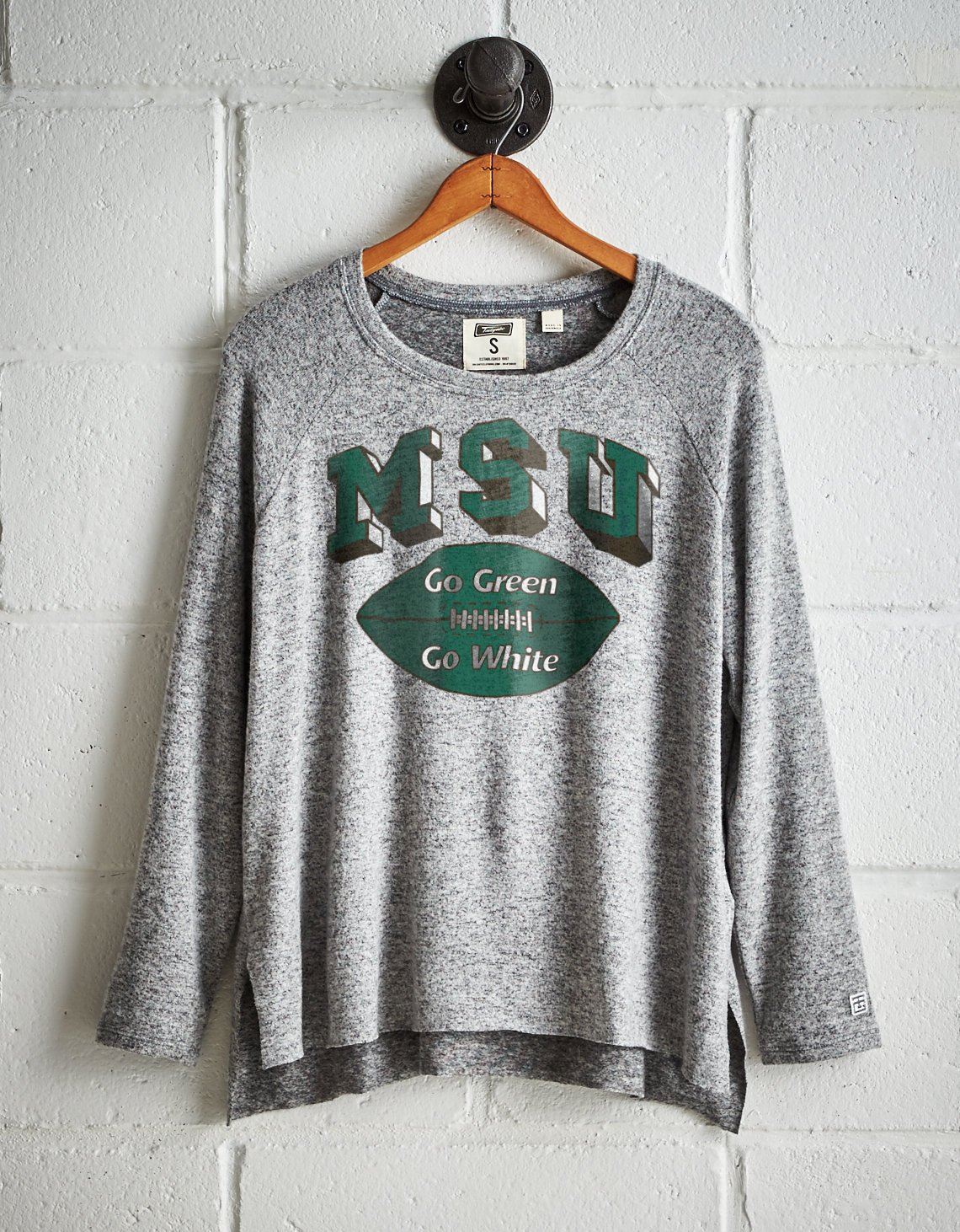 Tailgate Women's Michigan State Plush Tee