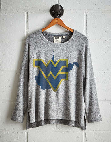 Tailgate Women's WVU Mountaineers Plush Tee - Free returns