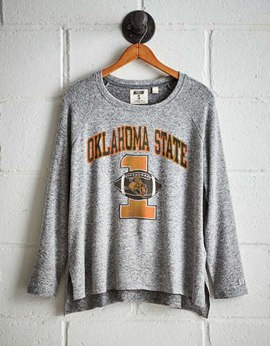 Tailgate Women's Oklahoma State Plush Tee - Buy One Get One 50% Off