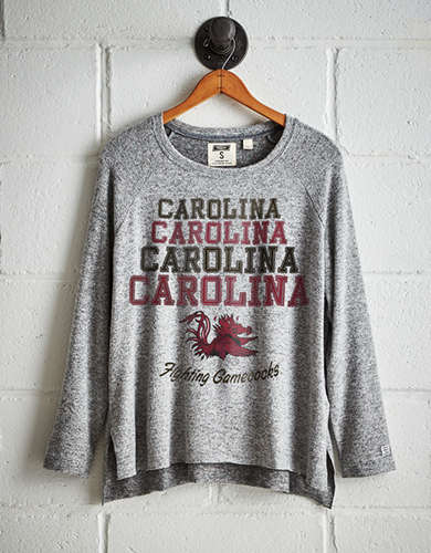 Tailgate Women's South Carolina Gamecocks Plush Tee - Free Returns