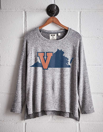 Tailgate Women's UVA Cavaliers Plush Tee - Free returns