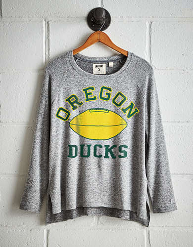 Tailgate Women's Oregon Plush Tee - Free Returns