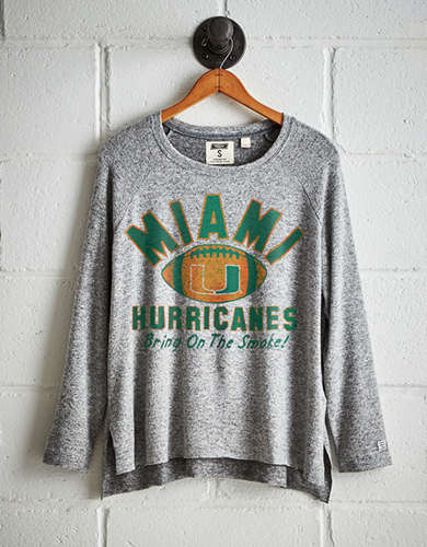 Tailgate Women's Miami Plush Tee - Free Returns