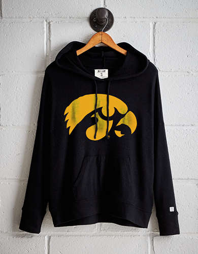 Tailgate Women's Iowa Hawkeyes Plush Hoodie - Buy One Get One 50% Off