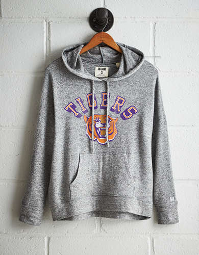 Tailgate Women's Clemson Plush Hoodie - Buy One Get One 50% Off
