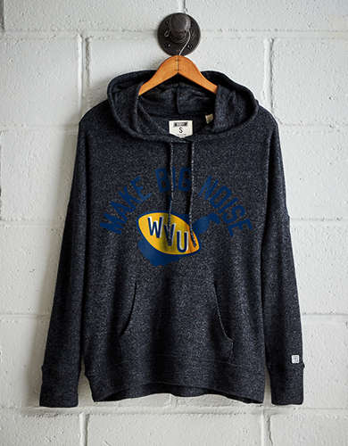 Tailgate Women's WVU Plush Hoodie - Free Returns