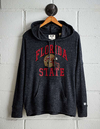 Tailgate Women's Florida State Plush Hoodie - Free Returns