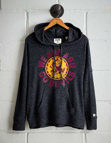 Tailgate Women's ASU Plush Hoodie - Free Returns