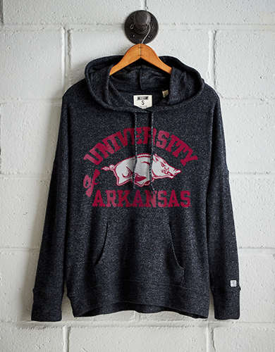 Tailgate Women's Arkansas Plush Hoodie - Free Returns