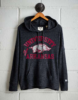 Tailgate Women's Arkansas Plush Hoodie