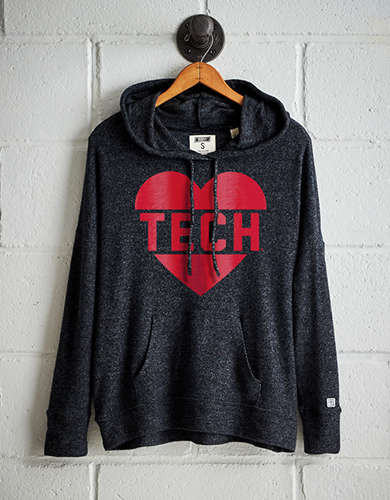 Tailgate Women's Texas Tech Plush Hoodie - Free Returns