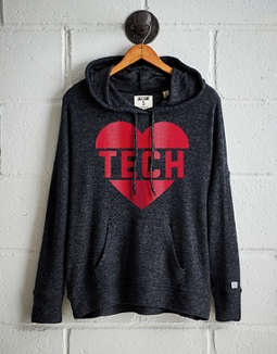 Tailgate Women's Texas Tech Plush Hoodie