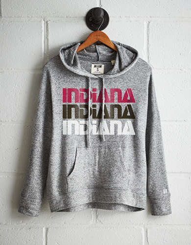 Tailgate Women's Indiana Plush Hoodie - Buy One Get One 50% Off