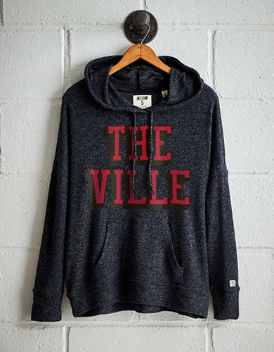 Tailgate Women's Louisville Plush Hoodie - Free Returns