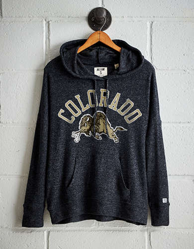 Tailgate Women's Colorado Plush Hoodie - Free Returns