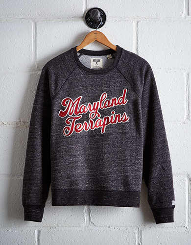 Tailgate Women's Maryland Crew Sweatshirt - Free Returns
