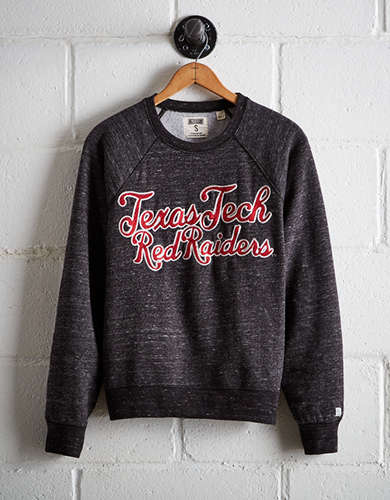 Tailgate Women's Texas Tech Crew Sweatshirt - Free Returns