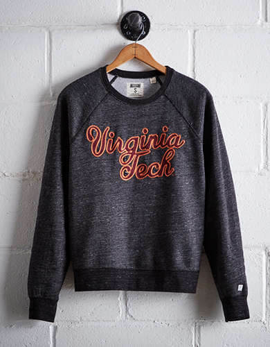 Tailgate Women's Virginia Tech Crew Sweatshirt - Free Returns