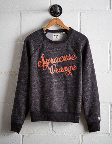 Tailgate Women's Syracuse Crew Sweatshirt - Free Returns