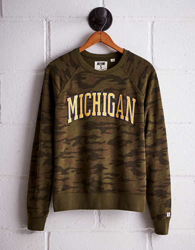 Tailgate Women's Michigan Camo Fleece Sweatshirt - Buy One Get One 50% Off
