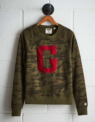Tailgate Women's Georgia Camo Fleece Sweatshirt - Free Returns