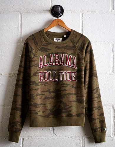 Tailgate Women's Alabama Camo Fleece Sweatshirt - Free returns