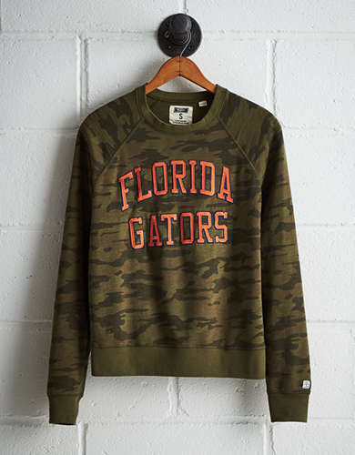 Tailgate Women's Florida Camo Fleece Sweatshirt - Free returns