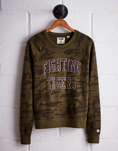 Tailgate Women's LSU Camo Fleece Sweatshirt - Free shipping & returns with purchase of NBA item