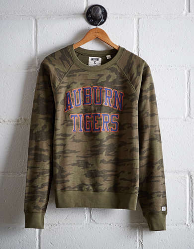 Tailgate Women's Auburn Camo Fleece Sweatshirt - Free Returns