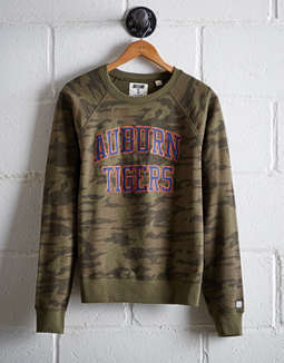 Tailgate Women's Auburn Camo Fleece Sweatshirt