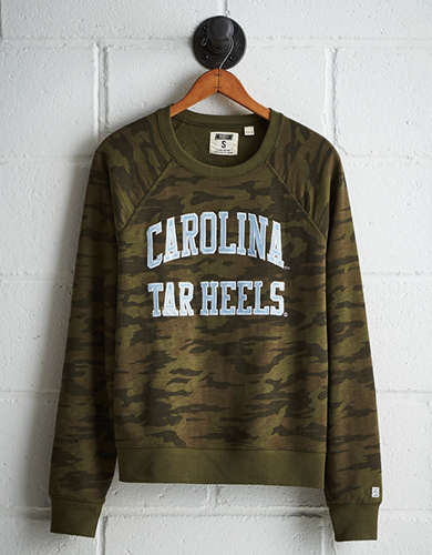 Tailgate Women's UNC Camo Fleece Sweatshirt - Free returns