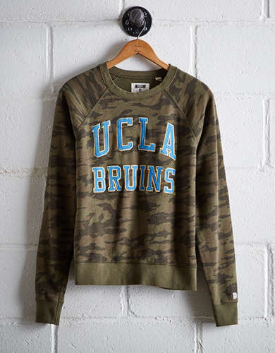 Tailgate Women's UCLA Camo Fleece Sweatshirt - Free Returns