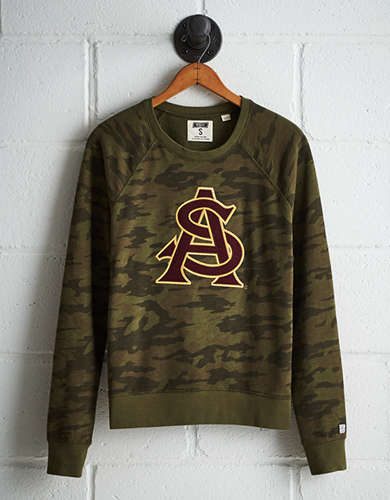 Tailgate Women's Arizona State Camo Fleece Sweatshirt - Free Returns