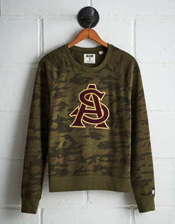 Tailgate Women's Arizona State Camo Fleece Sweatshirt