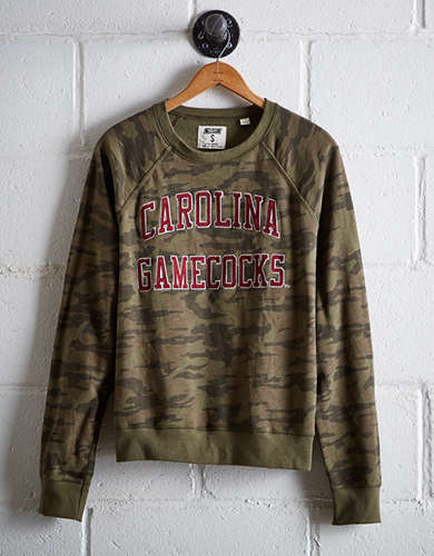 Tailgate Women's South Carolina Camo Fleece Sweatshirt - Free Returns