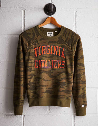 Tailgate Women's Virginia Camo Fleece Sweatshirt - Free Returns