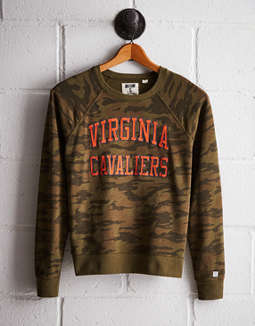 Tailgate Women's Virginia Camo Fleece Sweatshirt
