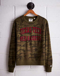 Tailgate Women's Texas Tech Camo Fleece Sweatshirt