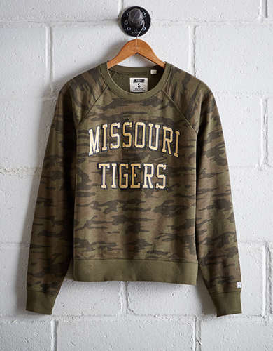 Tailgate Women's Missouri Camo Fleece Sweatshirt - Free returns