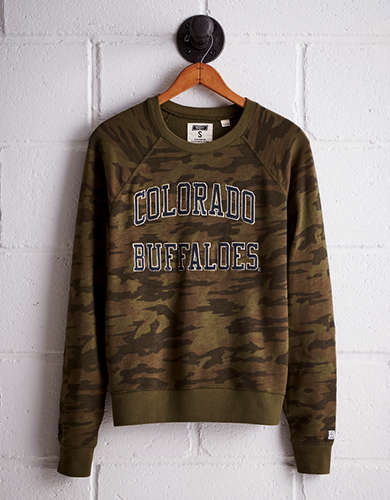 Tailgate Women's Colorado Camo Fleece Sweatshirt - Free Returns